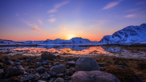 The magical light & colours of Lofoten Island