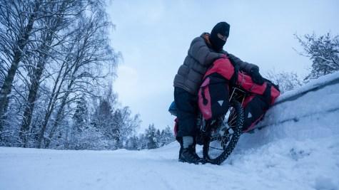 The dark winter of Sweden