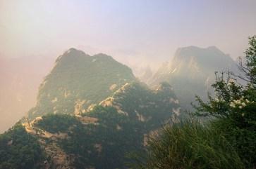 Hua Shan under the morning light