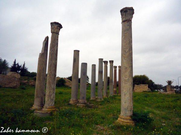 L'édifice des colonnes