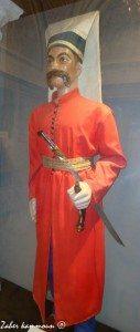 Le comandant des janissaires