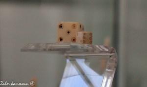 Dés romains du musée d'el Jem