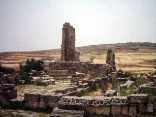 El Mdeina (Althiburos) près de Dahmani, gouvernorat d'El Kef