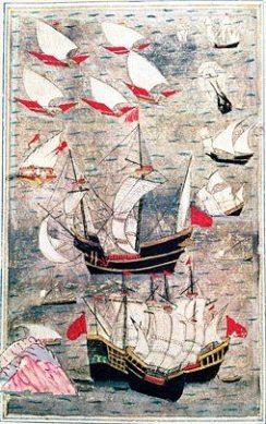 السفن العثمانية في القرن السادس عشر