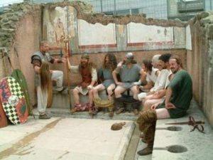 Les latrines romaines