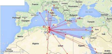 الخريطة التجارية لصفاقس