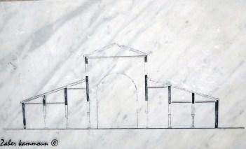 Reconstitution de la basilique