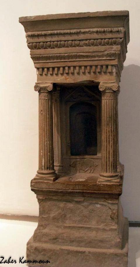 Zaher kammoun la pr sence gyptienne en tunisie punique for Architecture egyptienne