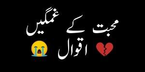 Sad Love Quotes in Urdu and Hindi