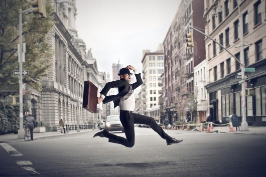 Success: Spring in your step