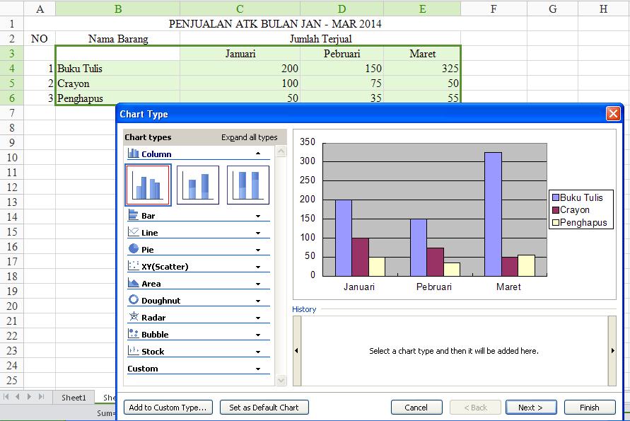 Contoh Pembukuan Sederhana Dengan Excel