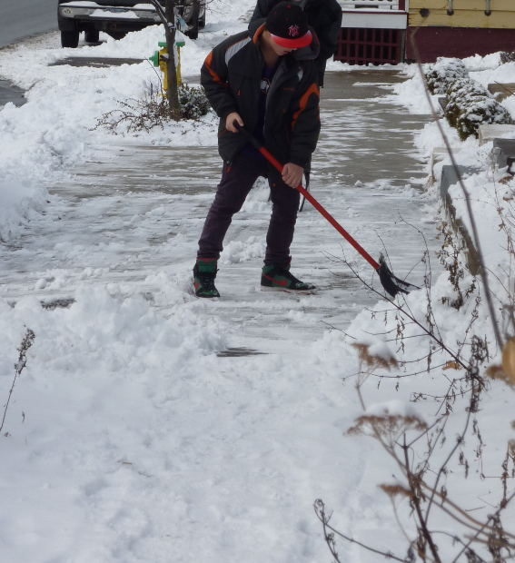 Most Efficient Way to Shovel (And Save Your Back) in 3 Easy Steps