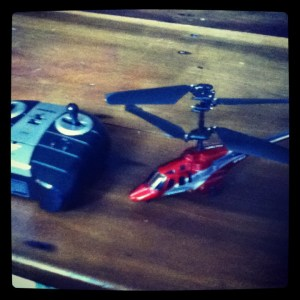 Birthday Helicopter
