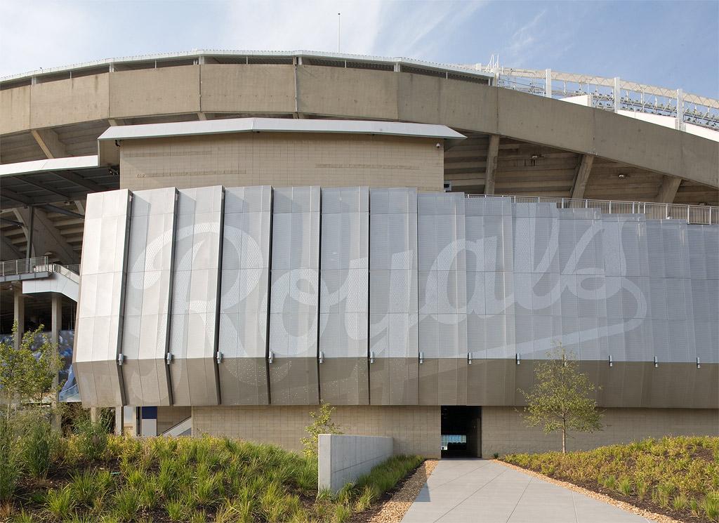 Kauffman Stadium Zahner