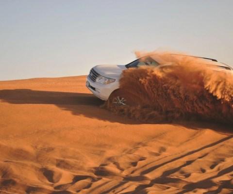 Off-road 4×4 in Desert Merzouga