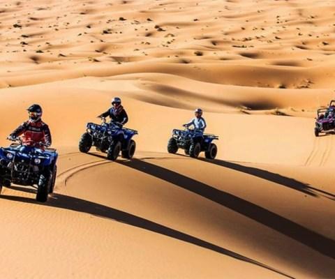 Quad Biking Desert Safari Merzouga