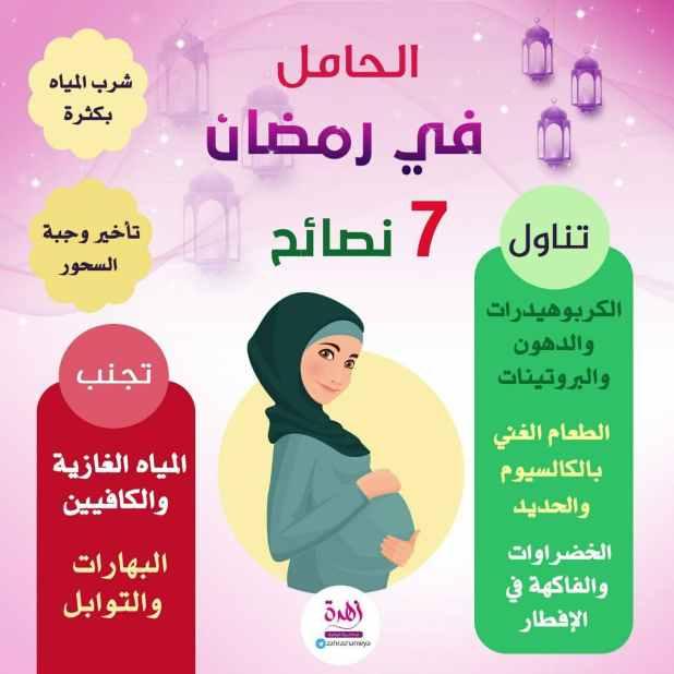 رمضان - الحامل في رمضان