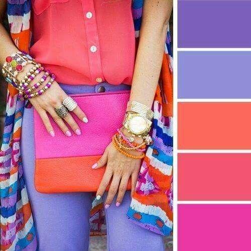paleta de color para como elegir el color de tu ropa