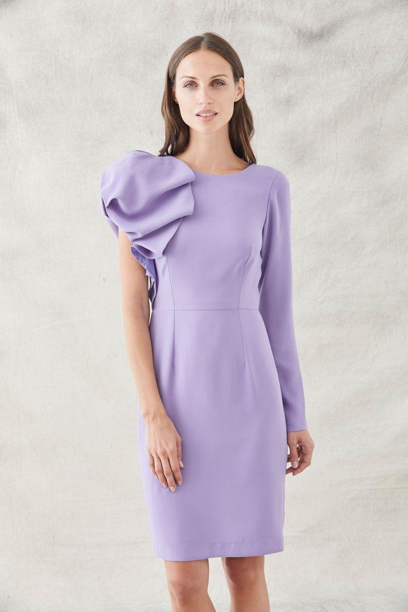 apparentia-collection-invitadas-vestidos-de-fiesta-bodas-bautizo-comunion-vestido-lila-lavanda-corto-asimetrico-volante
