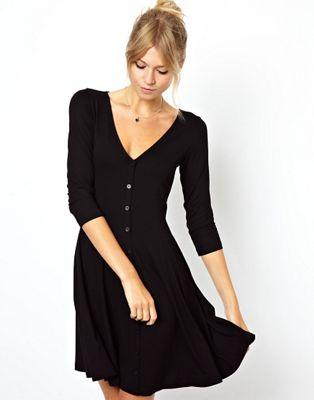 vestido evase para crear cintura