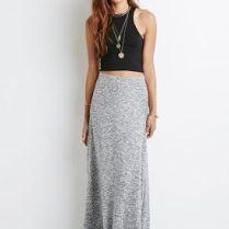 largo adecuado de las prendas faldas largas