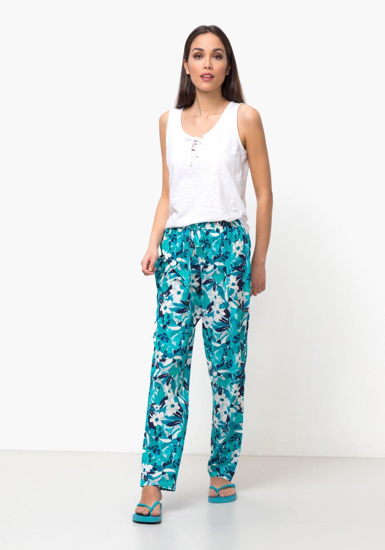 pantalones verano de gasa