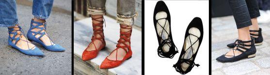 calzado plano bailarinas