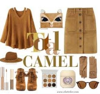 colores de otoño camel