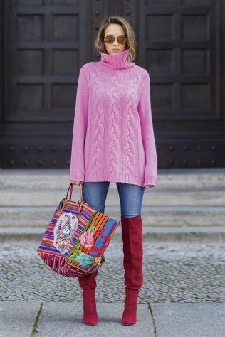 jersey de lana oversize