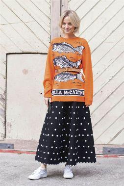 jersey de lana con cinturon