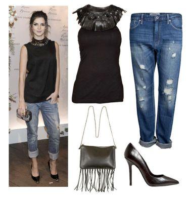 look-boyfriend-jeans + BLUSA ESPECIAL