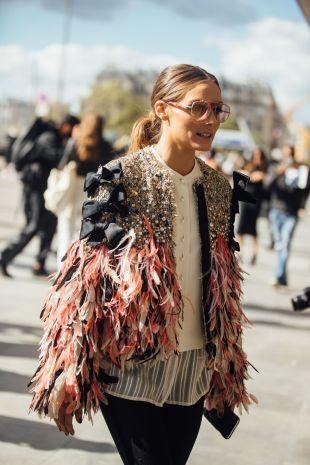 plumas tendencias moda 2019