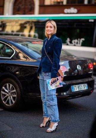 pantalon vaquero cargo tendencia moda 2019