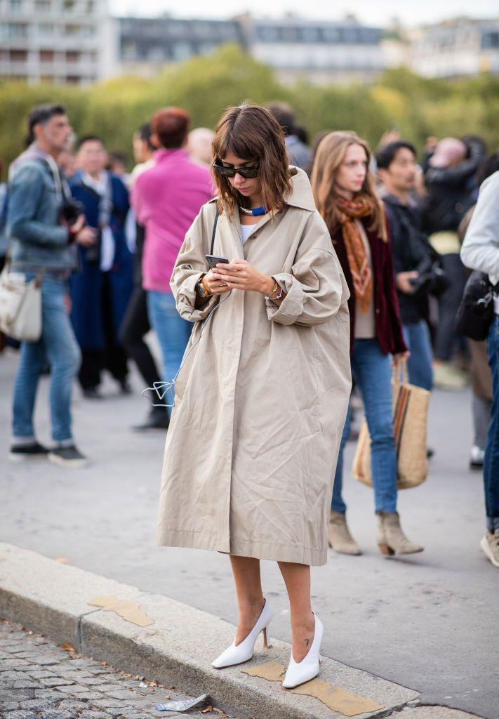 trench amplio tendencia moda 2019