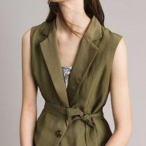 chaleco lino vestir bien en verano