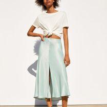 falda midi vestir bien verano
