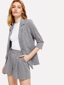 short con traje para vestir bien en verano