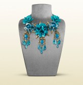 Gucci necklace with turquoise motif 2