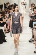 CHANEL resort 2014 Singapore - black lace dress