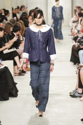 CHANEL resort 2014 Singapore - Jeans jacket and pants
