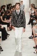 CHANEL resort 2014 Singapore - Men's black jacket and white pants III