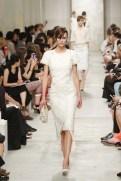 CHANEL resort 2014 Singapore - White dress