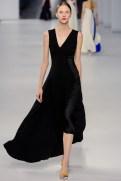 Dior Cruise 2014 - Black long dress