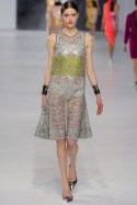 Dior Cruise 2014 - Green and silver dress