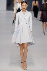 Dior Cruise 2014 - White coat