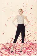Alice + Oliva Resort 2014 - White top and black pants