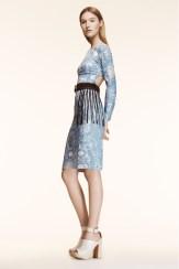 Altuzarra Resort 2014 - Paisley blue dress