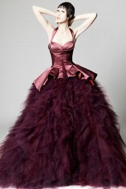 Zac Posen Resort 2014 - Purple dress