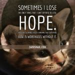 Read more about the article Hope and faith…two peas in a pod