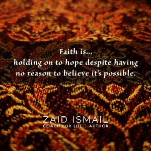Read more about the article Have a little faith